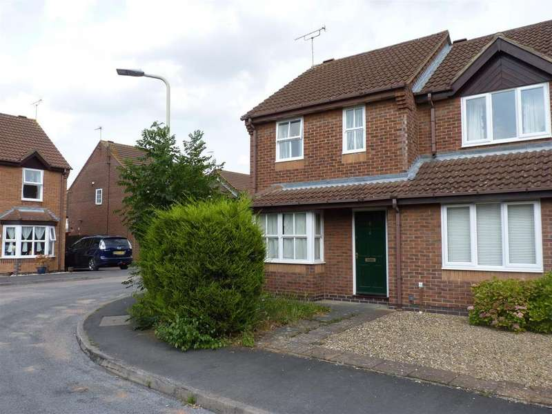 2 Bedrooms Town House for sale in Deene Close, Market Harborough