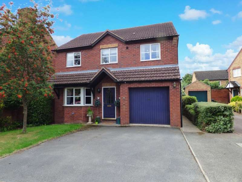 4 Bedrooms Detached House for sale in St Clares Court, Lower Bullingham, Hereford