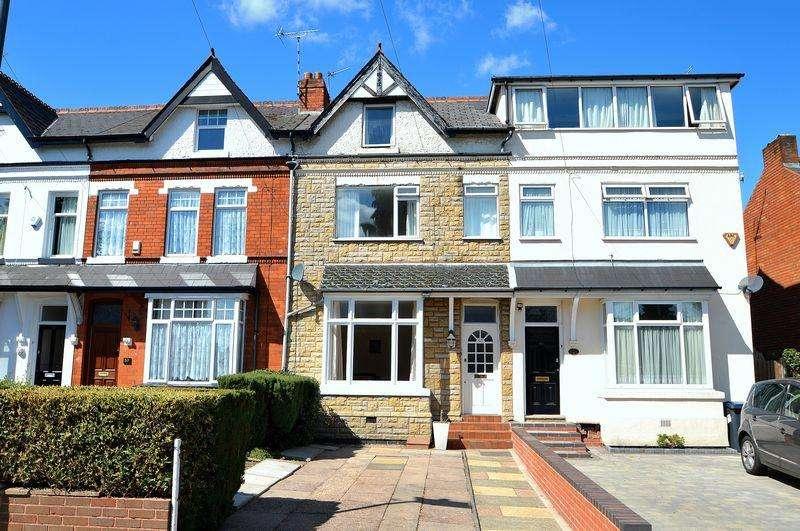 4 Bedrooms Terraced House for sale in Livingstone Road, Kings Heath, Birmingham, B14
