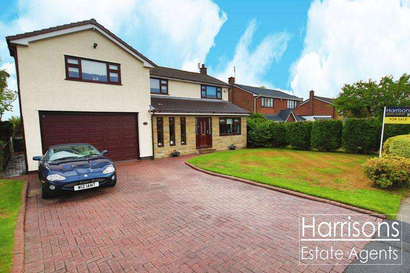 4 Bedrooms Detached House for sale in High Bank, Over Hulton, Atherton, Manchester.