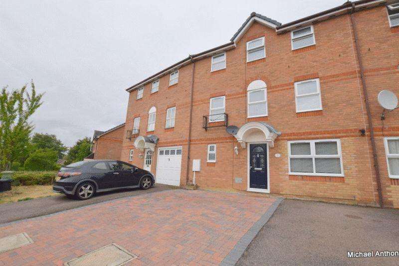 4 Bedrooms Town House for sale in The Oval, Oldbrook, Milton Keynes