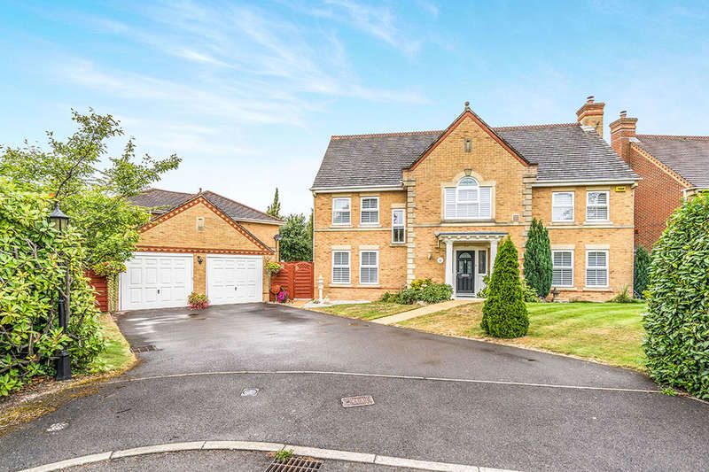 5 Bedrooms Detached House for sale in Uxbridge Close, Sarisbury Green, SOUTHAMPTON, SO31