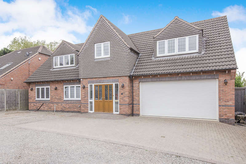 5 Bedrooms Detached House for sale in Hortons Close, Glen Parva, Leicester, LE2