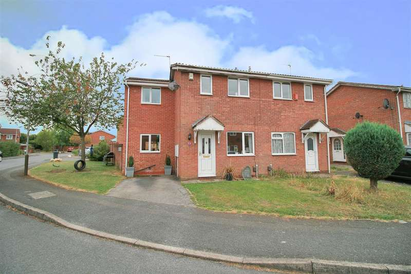 3 Bedrooms Semi Detached House for sale in Plover Crescent, Leicester