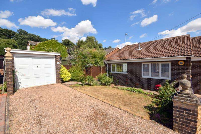 2 Bedrooms Semi Detached Bungalow for sale in Duncan Way, Loughborough