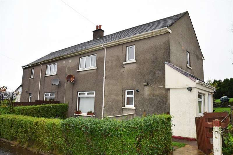 3 Bedrooms Semi Detached House for sale in 1 Kellybank, Wemyss Bay, Inverclyde, PA18