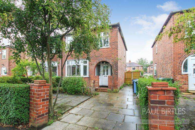 3 Bedrooms Semi Detached House for sale in Brooklyn Avenue, Flixton, Manchester