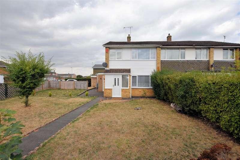 3 Bedrooms Semi Detached House for sale in Elvaston Way, Tilehurst, Reading