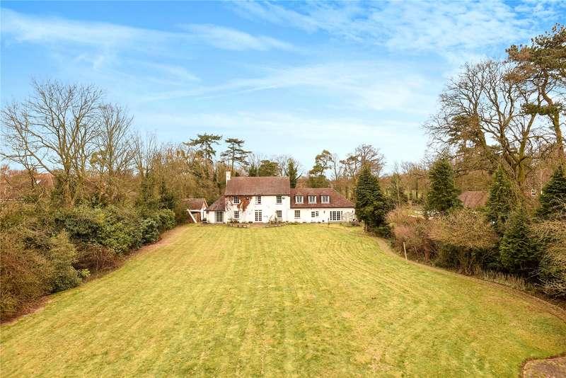 5 Bedrooms Detached House for sale in Fir Tree Avenue, Stoke Poges, Berkshire, SL2