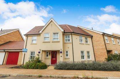 4 Bedrooms End Of Terrace House for sale in Jupiter Way, Biggleswade, Bedfordshire