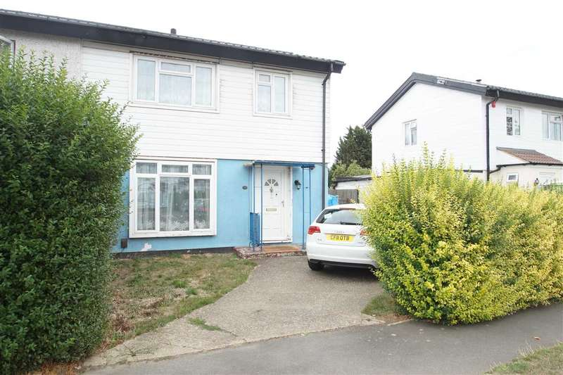3 Bedrooms Semi Detached House for sale in Ward Gardens, Cippenham