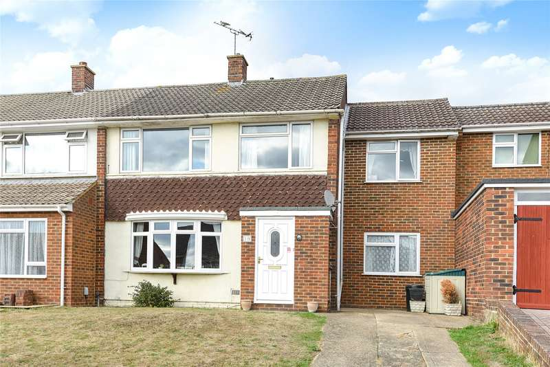 4 Bedrooms Semi Detached House for sale in Cantley Crescent, Wokingham, Berkshire, RG41