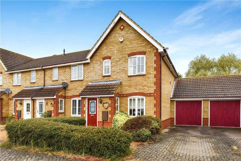 3 Bedrooms End Of Terrace House for sale in Lytham Place, Great Denham, Bedford, Bedfordshire