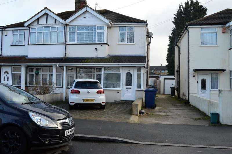 3 Bedrooms Semi Detached House for sale in Adrienne Avenue