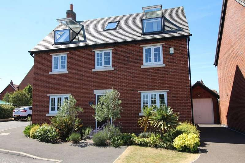 4 Bedrooms Detached House for sale in Edward Phillipps Road, Hathern