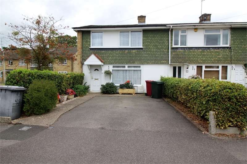 3 Bedrooms End Of Terrace House for sale in Buckingham Drive, Emmer Green, READING, Berkshire