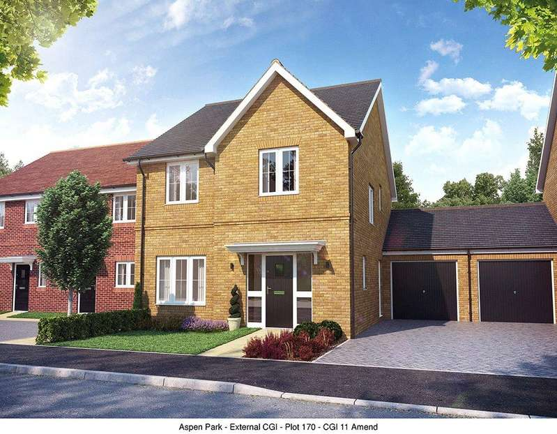 4 Bedrooms Link Detached House for sale in Plot 170, The Larfield, Aspen Park, Haddenham, Aylesbury, Buckinghamshire, HP17