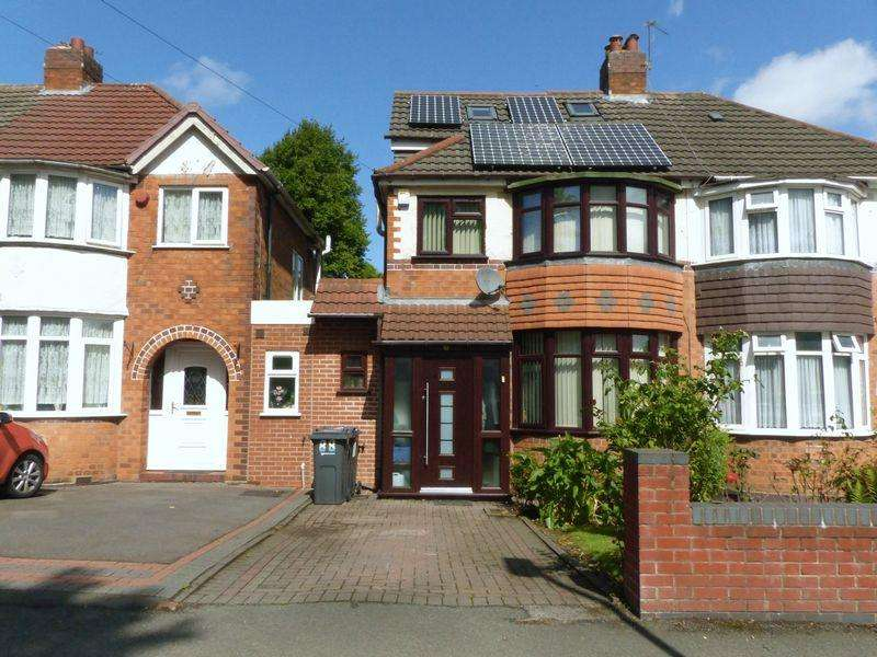 4 Bedrooms Semi Detached House for sale in Calshot Road, Great Barr
