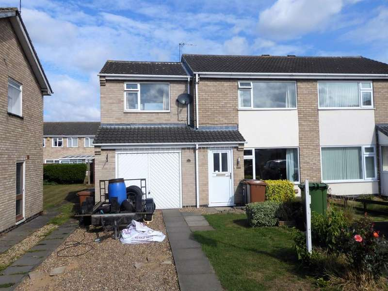 3 Bedrooms Semi Detached House for sale in Nene Close, Melton Mowbray