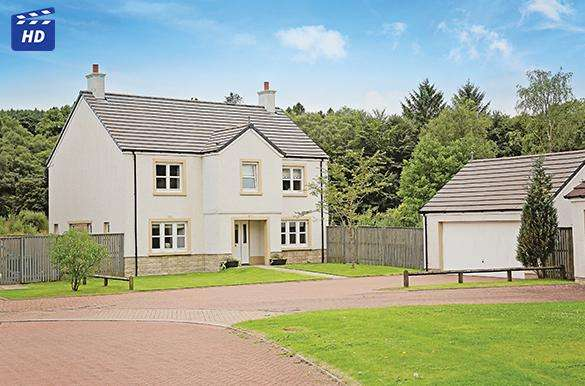 5 Bedrooms Detached House for sale in 5 Rowanberry Court, Campsie Village, Lennoxtown, G66 7BF