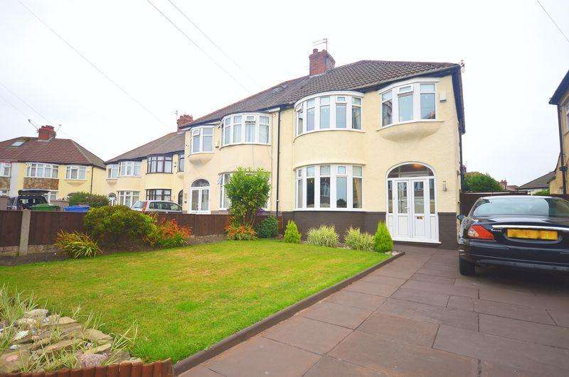 3 Bedrooms Semi Detached House for sale in Rockville Road, Liverpool