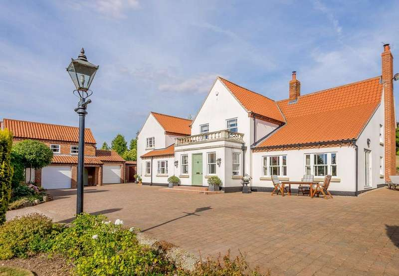 5 Bedrooms Detached House for sale in White House Farm, Main Street, Welham, Retford, DN22