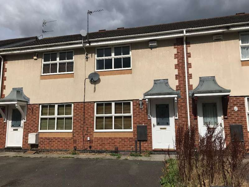2 Bedrooms Town House for sale in Ryder Road, Kirby Frith, Leicester, Leicestershire, LE3 6UZ
