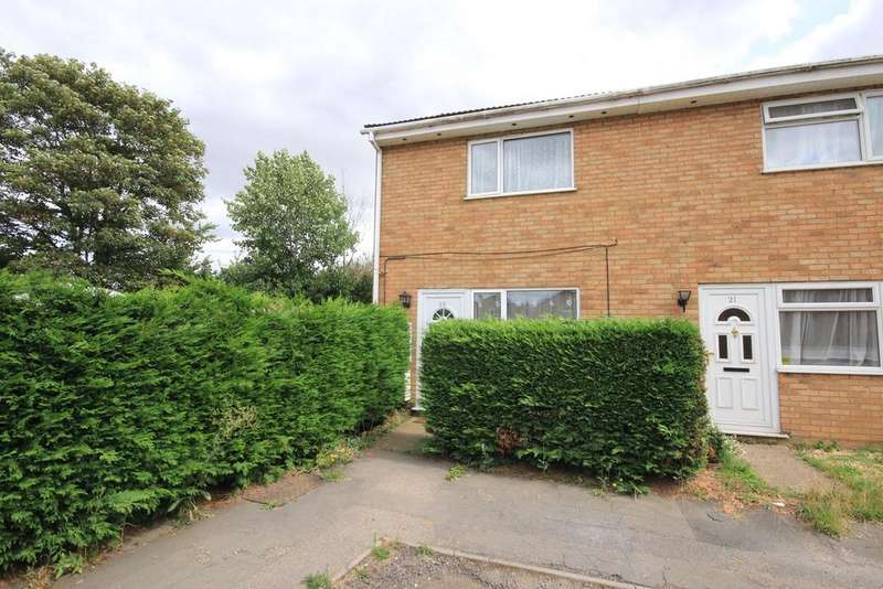 2 Bedrooms End Of Terrace House for sale in Dunstable Close, Flitwick, MK45