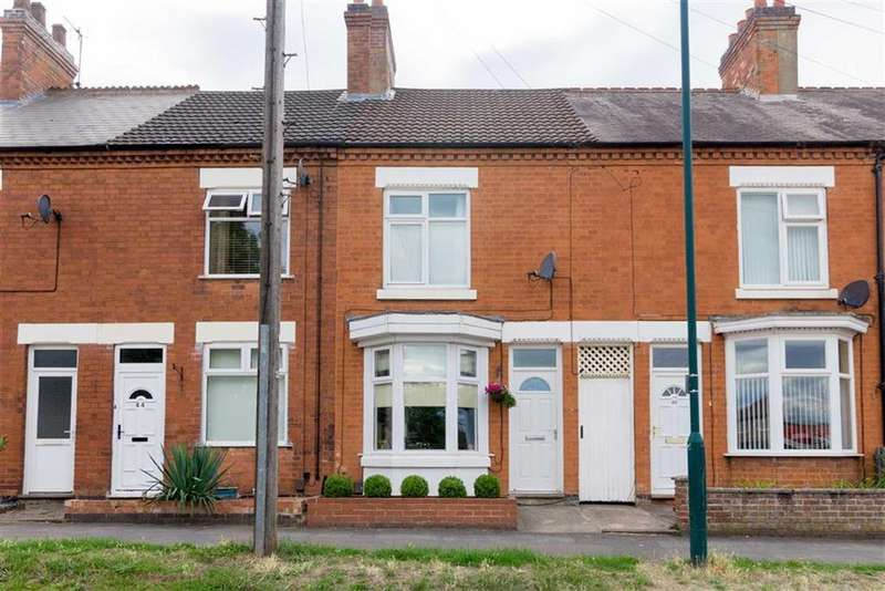 2 Bedrooms Terraced House for sale in Rothley Road, Mountsorrel, LE12