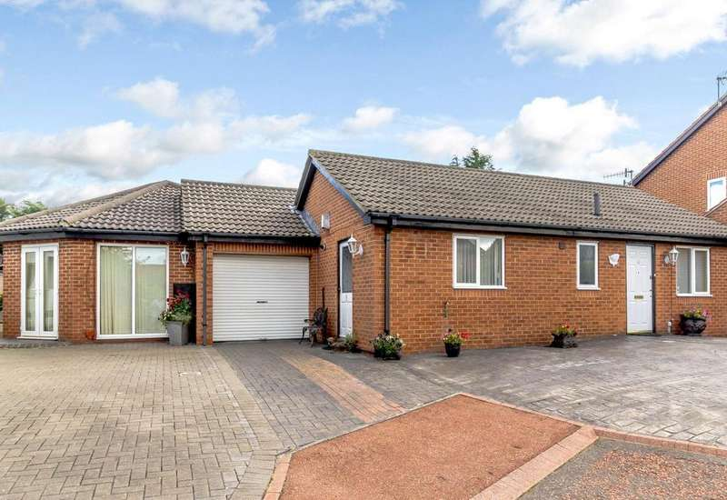 3 Bedrooms Detached Bungalow for sale in Allchurch, Newcastle Upon Tyne, Tyne And Wear