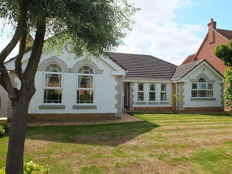3 Bedrooms Detached Bungalow for sale in Oak Way, Heckington, Sleaford