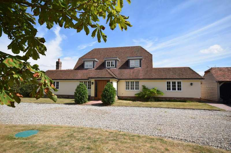 4 Bedrooms Detached House for sale in Creedy, The Street, Little Dunmow, CM6
