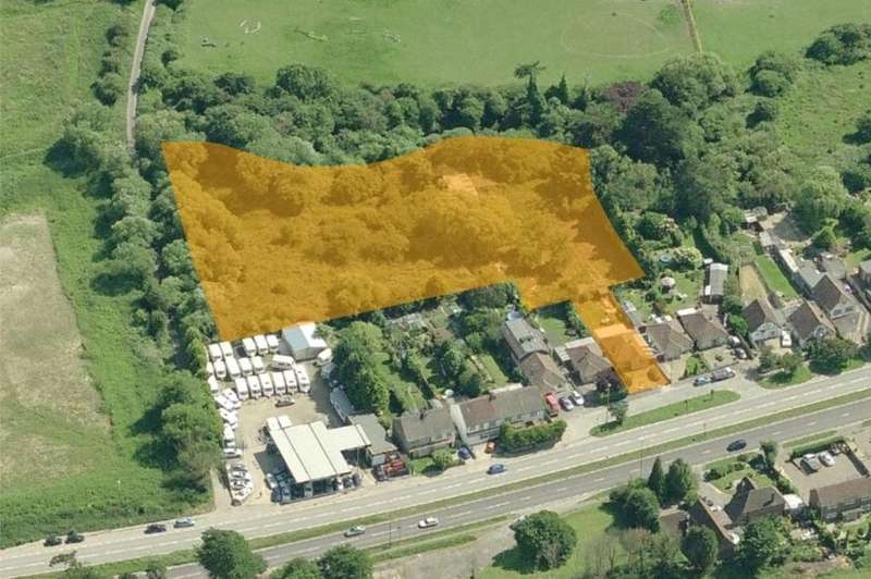 2 Bedrooms Land Commercial for sale in Old Shoreham Road, Lancing, West Sussex, BN15