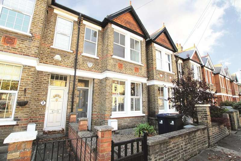 4 Bedrooms Terraced House for sale in Glenfield Road, Ealing, W13