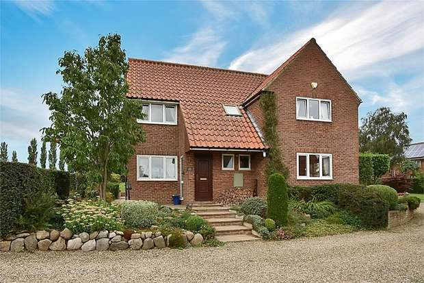4 Bedrooms Detached House for sale in Back Lane, Dishforth, Thirsk, North Yorkshire