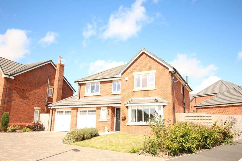 4 Bedrooms Detached House for sale in Benedict Drive, Blackpool, FY3