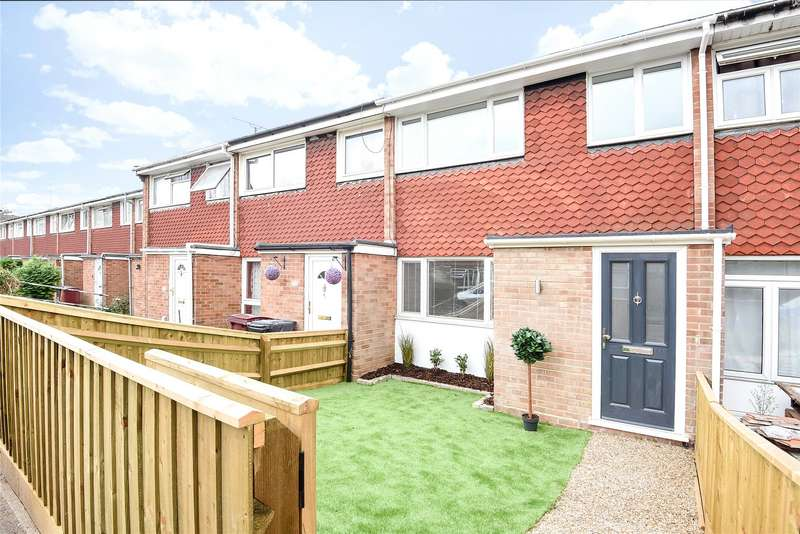 3 Bedrooms Terraced House for sale in Barnwood Close, Reading, Berkshire, RG30