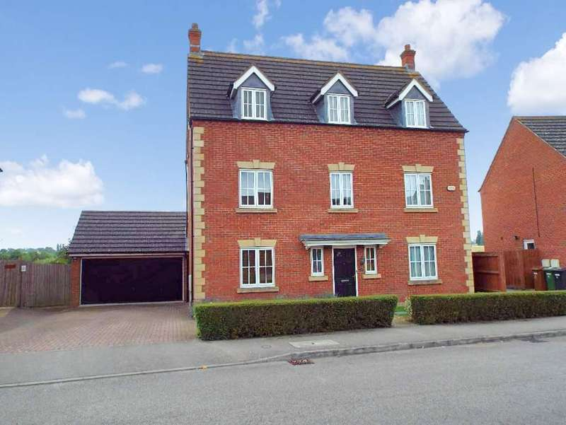 5 Bedrooms Detached House for sale in Briarwood Way, Wollaston, Northamptonshire, NN297QR