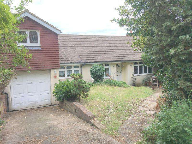 4 Bedrooms Semi Detached Bungalow for sale in Nuffield Road, Hextable