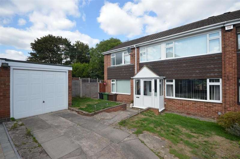 4 Bedrooms Semi Detached House for sale in St Leonards Close, Marston Green
