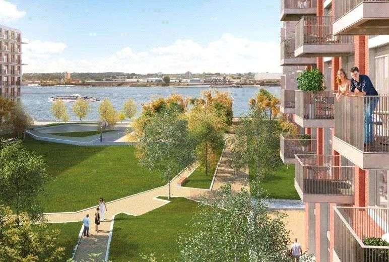 1 Bedroom Flat for sale in Portland House, Royal Wharf E16