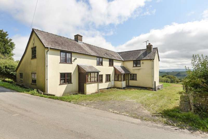 4 Bedrooms Detached House for sale in Hay on Wye/Kington, Newchurch, HR5