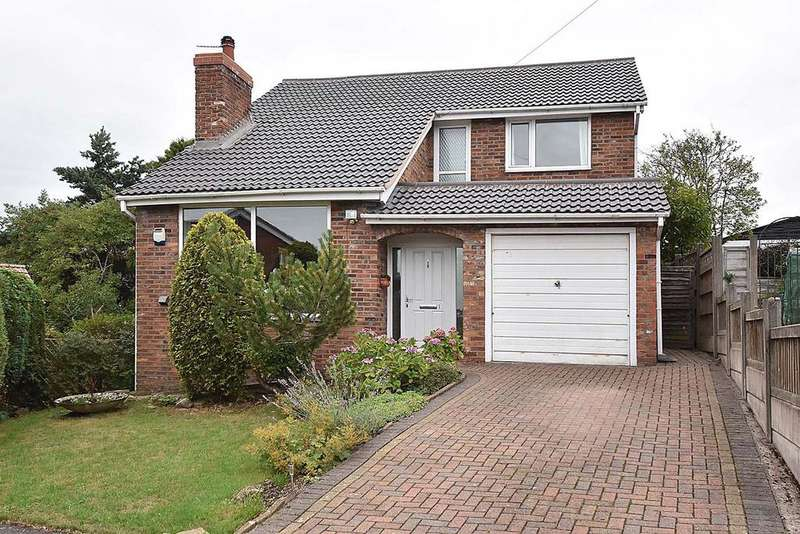 4 Bedrooms Detached House for sale in Vine Close, Macclesfield