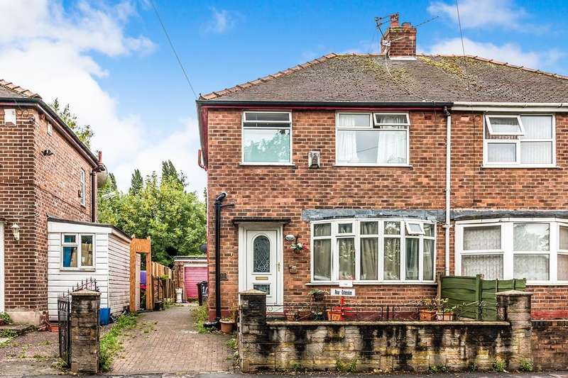 5 Bedrooms Semi Detached House for sale in Crescent Range, Victoria Park/ Rusholme , Manchester, M14