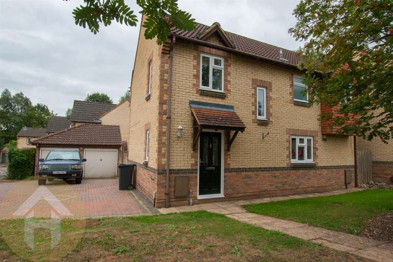 4 Bedrooms Detached House for sale in Thyme Close, Swindon