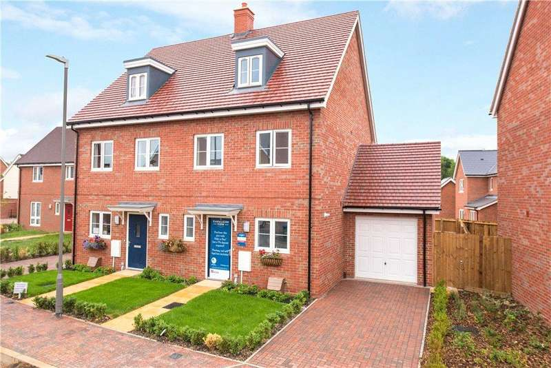 3 Bedrooms Semi Detached House for sale in Plot No. 034, Canalside View, Off Stocklake, Aylesbury