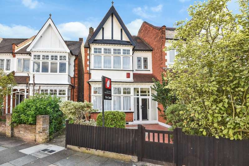 4 Bedrooms Semi Detached House for sale in Wyatt Park Road London SW2