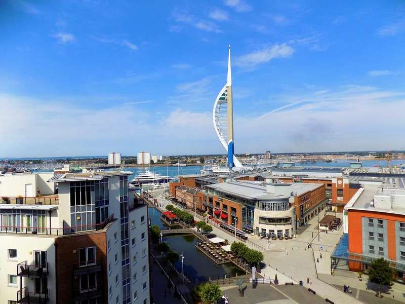 3 Bedrooms Penthouse Flat for sale in Gunwharf Quays, Portsmouth