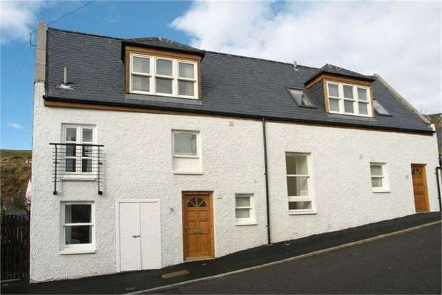 2 Bedrooms Semi Detached House for sale in Bridge Street, Gourdon, Montrose, Aberdeenshire