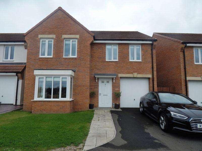 4 Bedrooms Detached House for sale in Hedgehope Walk, Crofton Grange, Blyth Northumberland